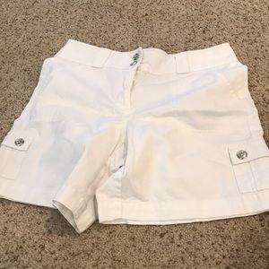 Rafaela white shorts in great condition, size 10